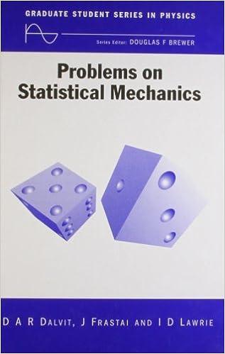 Foro de descargas de libros electrónicos Problems on Statistical Mechanics (Graduate Student Series in Physics) ePub 0750305207
