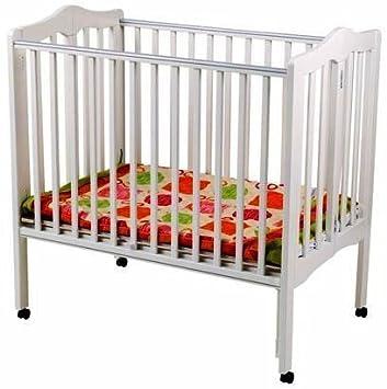 Delta Fold Away 3 In 1 Portable Crib   White