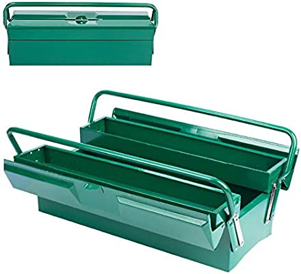 Caja Herramientas Metalica,Caja Metalica Cantilever Metálicas,Caja De Almacenamiento Plegable Multipropósito,2 ...