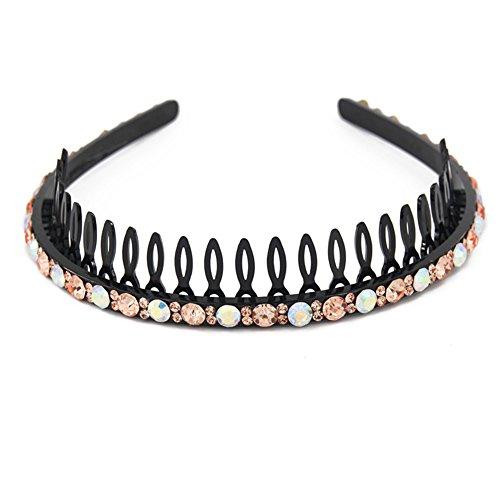 Yeshan Headband Rhinestone Hairband Champagne