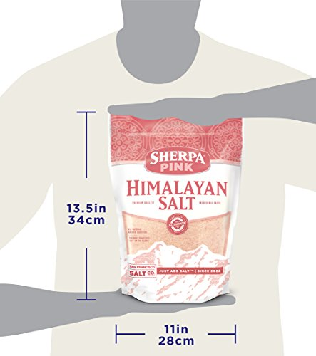 Sherpa Pink Gourmet Himalayan Salt, 10lbs Fine Grain. Incredible Taste. Rich in Nutrients and Minerals to Improve Your Health. Add to Your Cart Today. by Sherpa Pink (Image #8)