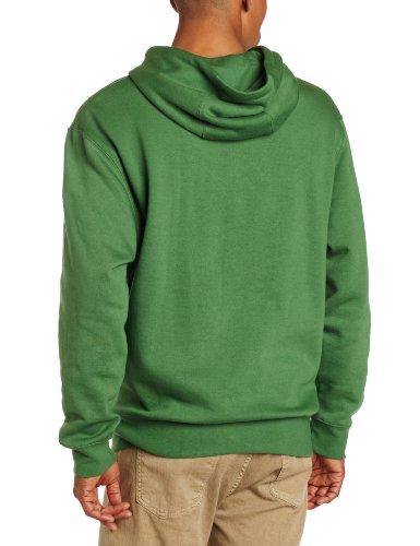 John Deere Men's Trademark Logo Core Hood Pullover Fleece, Green, X-Large