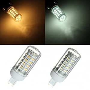 G9 5W 66 SMD 3528 LED High Power Spot Down Light Lamp Bulb 220V # Color--Warm White