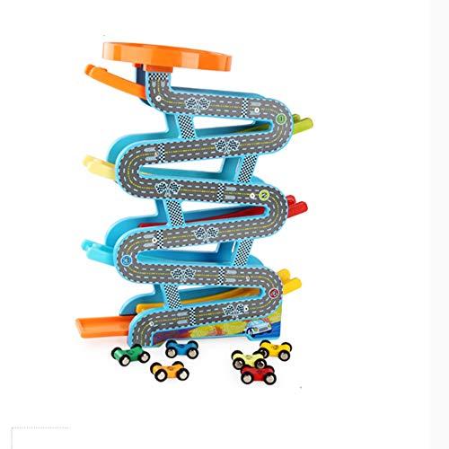 HAIZHEN Juguete intelectual Juguetes educativos para niños, planeador, planeador, pista, juguete de carro deslizante,...