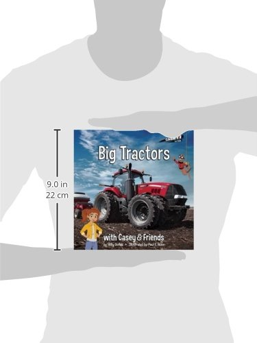 Big Tractors (Casey and Friends) by ERTL (Image #1)