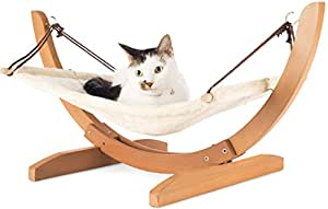 Amazon.com: Vea pets Luxury Cat Hammock - Large Soft Plush