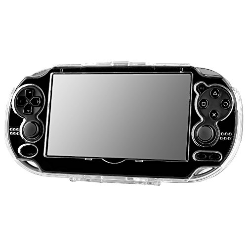 Faceplate Snap Case (Insten Snap-on Crystal Case Compatible With Sony PlayStation Vita, Clear)