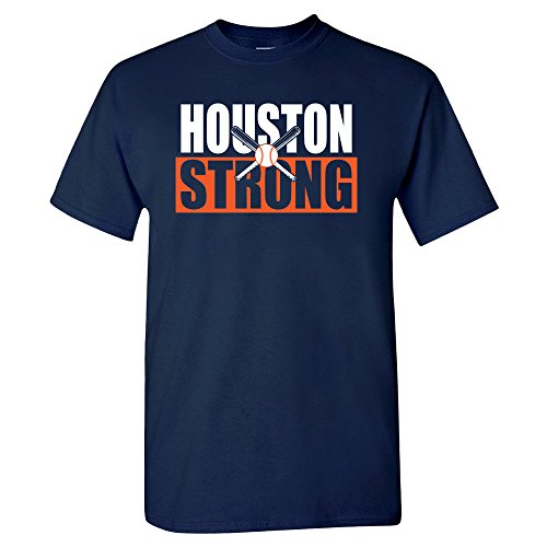 Xtreme Houston Strong Crossed Bats Shirt (L)
