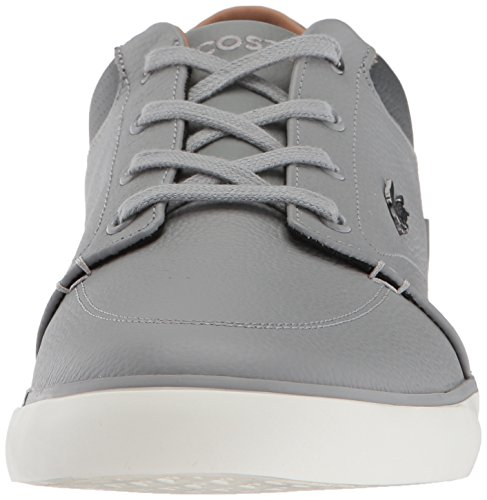 Lacoste Heren Bayliss Sneakers Grijs / Dkgry Leather