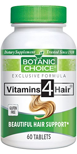 Botanic Choice Vitamins For Hair, 60 Tablets  (Pack of 4)