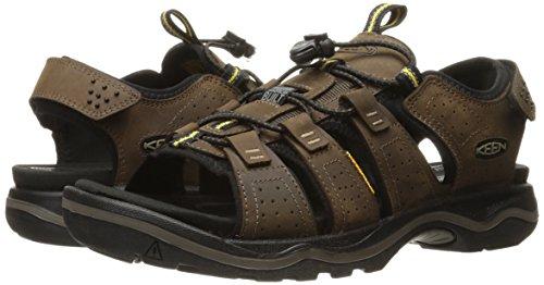 Keen Galleo Mid WP Walking Boots, Dark Earth/Black, 47.5 EU