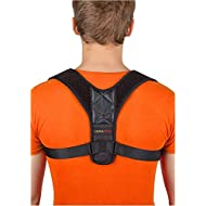 [New 2019] Posture Corrector for Women and Men | Neck Pain Relief | Adjustable Upper Back Brace for Clavicle Support