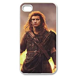 FLYBAI Braveheart Mel Gibson Phone Case For Iphone 4/4s [Pattern-5]