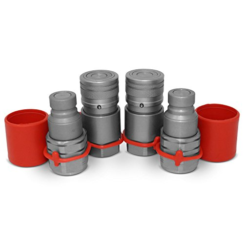 Hydraulic Hose Quick Coupler - 2