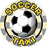 Soccer Taxi Magnet