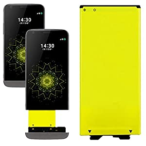 Aobiny Spare Li-ion Battery Rechargeable Yellow For LG G5