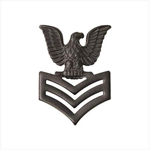 - Vanguard Marine Corps Collar Device: E6 Petty Officer - Black Metal
