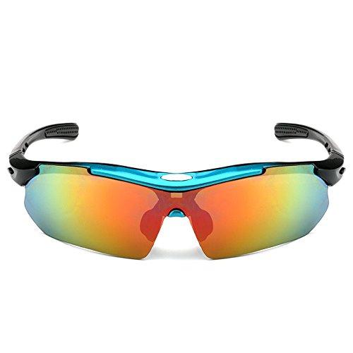 de Frame Profesionales Hombres Gafas los Sol los Blue Masculinas de Easy Shopping vidrios Gafas Color Red de Sol los de conducen Black Polarizer Frame de de Go vidrios Que zqtwxf