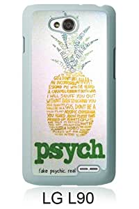 Recommended Design Phone Case Psych Pineapple 1 White Best Popular Sale LG L90 Case