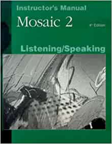 Download mosaic 2 listening and speaking