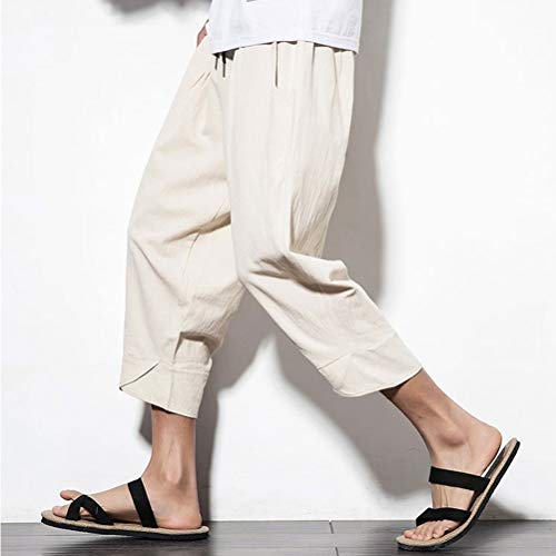 De Bolawoo Plage Thai Pants Linge Boho 77 Pantalon Hommes Plus Chic Harem Mode Kaki Aladdin Yoga Taille Bloomers Hippie La Dames Baggy Casual rU4rwRtqA