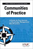 Communities of Practice, American Productivity & Quality Center, 1928593488