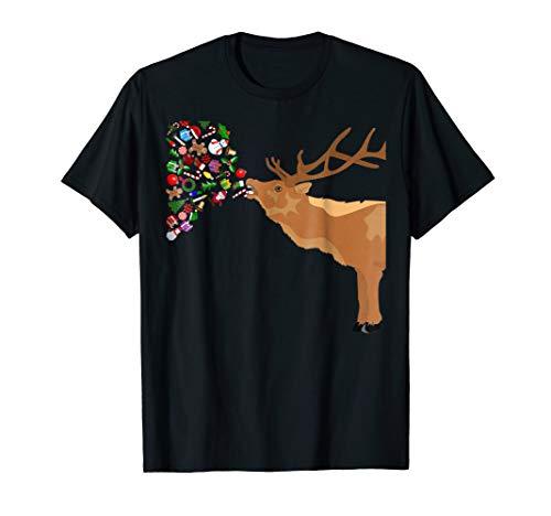 Couples Sick Reindeer DIY Funny Ugly Christmas Sweater