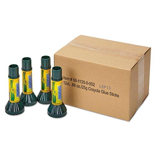 Crayola 561135 Washable Glue Stick, .88 oz, Stick (Pack of (Crayola Pen)