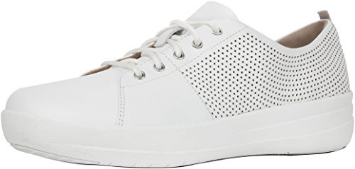 Damen Sneakers White FitFlop Cross Perf TM Sporty Ii Lace Urban Trainer F up BSw8qdF