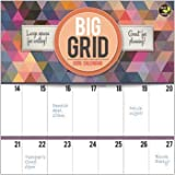 2016 BIG GRID: DESIGN WALL CALENDAR TF PUBLISHING {jg} Great for mom, dad, sister, brother, grandparents, aunt, uncle, cousin, grandchildren, grandma, grandpa, wife, husband, relatives and friend. by TF Publishing