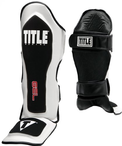 Title Gel Elite Pro Shin & Instep Guards