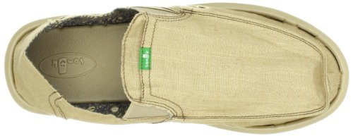 Sanuk Mens Pick Pocket Slip Op Zand