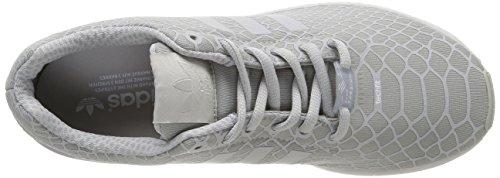 adidas ZX Flux Techfit Herren Sneakers Grau / Weiß