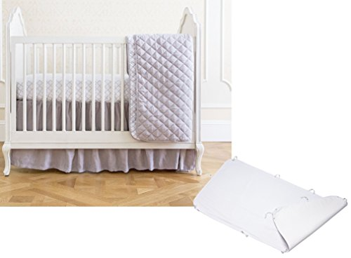 California Baby Summer Infant 4 Piece Bedding Set with Wa...