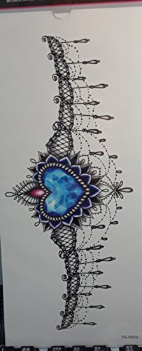 GGSELL Temporary tattoos for women's chest Jewelry design by GGSELL by GGSELL
