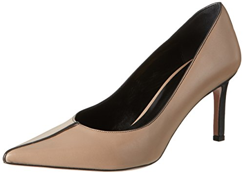 Oxitaly Stefy 306 - Tacones Mujer Beige (Corda)