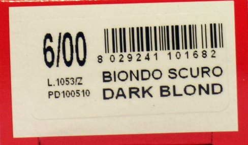 3 x vitalcare Crema Capilar Tinte Rubio Oscuro 6/00 100 ml ...