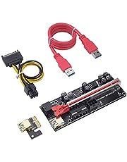 JUMM PCIE Riser 009s Plus Tarjeta de extensión PCI Express PCI Express X16 VER009s Plus Tarjeta Vertical para minería