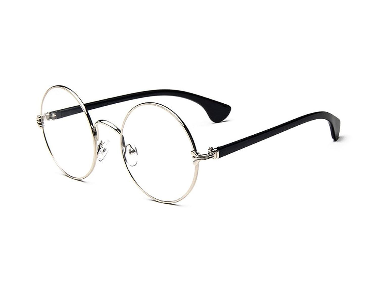 YOYEAH Classic Retro Metal Round Glasses