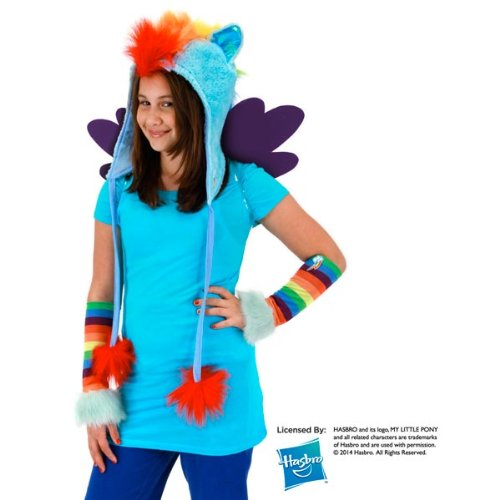 My Furry Costume (Elope My Little Pony Rainbow Dash Hoodie Hat)
