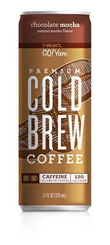 (7-Select Premium Cold Brew Coffee-Chocolate Mocha, 11 Ounce Cans (12 Pack) )