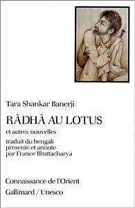 Book's Cover ofRâdhâ au lotus et autres nouvelles
