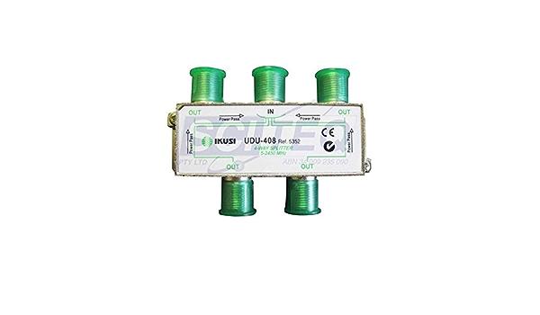Ikusi udu-408 - Distribuidor 4 direcciónes con pc.: Amazon.es ...