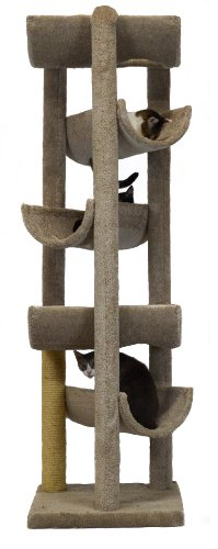 Molly and Friends Alleyway Cat Furniture, X-Large, Beige by Molly and Friends
