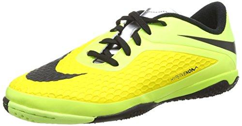 NikeJr. HYPERVENOM Phelon IC - zapatillas de fútbol Niños-Niñas Amarillo (vibrant yellow/blk-chrm-vlt ic 700)