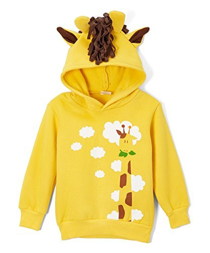 Doodle Pants - Giraffe Hoodie with Horns - - Women Montreal Hot