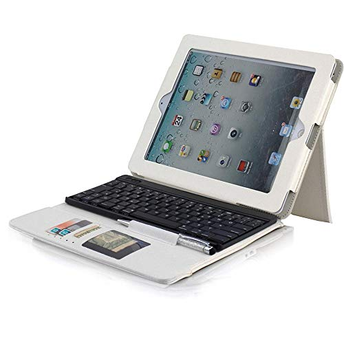 Urbannerd Deutsche Bluetooth Tastatur mit Hülle: