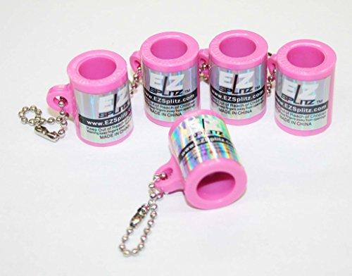 EZ SPLITZ Keychain Blunt Cutter & Blunt Splitter 5 Piece Set ~ Packaged by SIR GARA - Sunglasses Fuentes