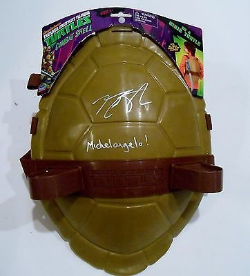 Noel Fisher Signed Michelangelo Toy Shell w/COA Teenage ...