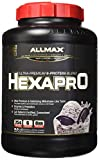 ALLMAX Nutrition Hexapro Ultra-Premium Protein MCT Coconut Oil Cookies Cream 5 5 lbs 2 5 kg Review